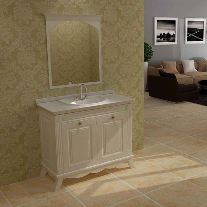BSYG-04 Flood Standing Bathroom Vanity with Mirror